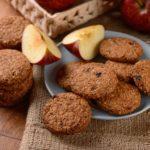 Cookies aux pommes et son d'avoine