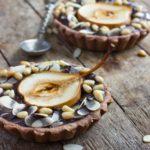Tartelettes aux poires et chocolat