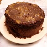 Gâteau rapide au chocolat et aux pommes