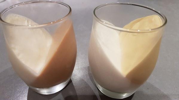 Pana cotta légère et onctueuse à la mangue et noix de coco