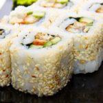 Sushi californien (maki inversé)