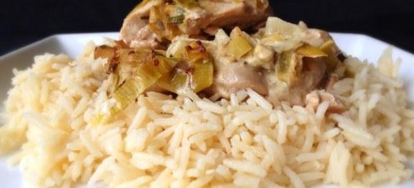 Poulet au riz pour robot Cookeo