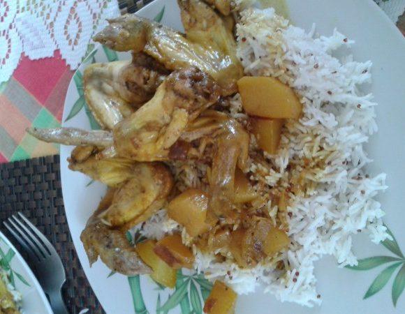 Colombo de poulet (Antilles)