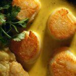 Noix de St-Jacques au curry