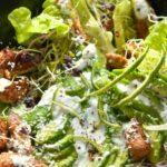 Salade de poulet vinaigrette coco