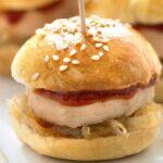 Mini-burgers au foie gras et chutney de figues