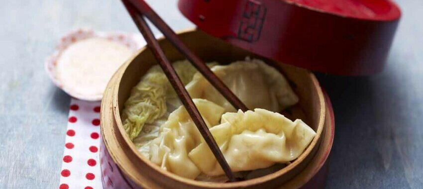 Raviolis vapeur à la chinoise