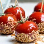 Tomates apéritives au sésame