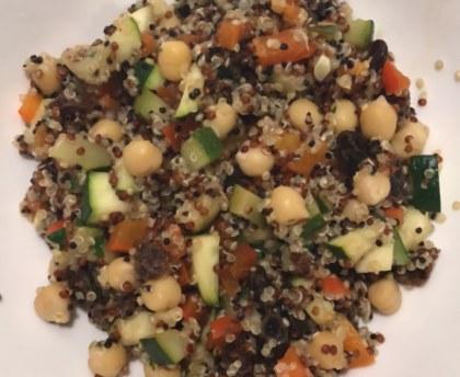 Tajine de légumes d'Israël