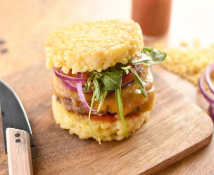 Burger coquillettes