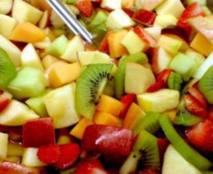 Salade pommes-kiwis (entrée)