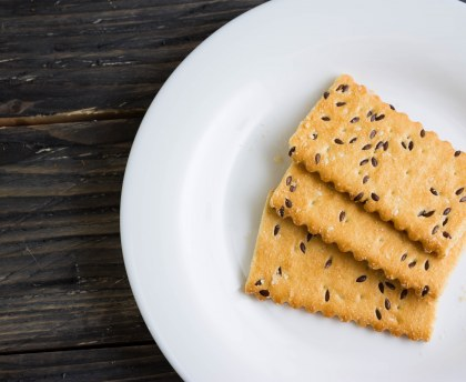 Sablés au tahiné (crème de sésame)