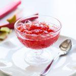 Gelée de rhubarbe