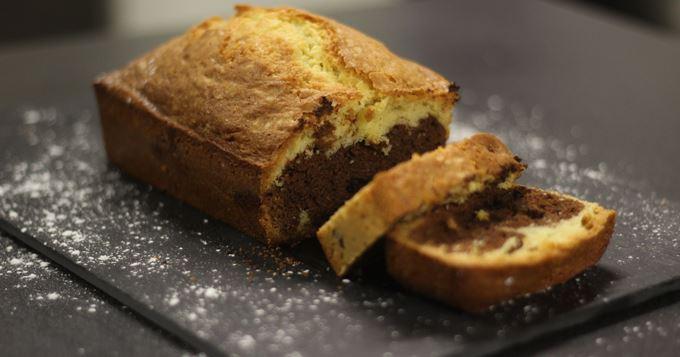 Gâteau marbré facile et rapide