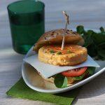 Burgers de saumon au cresson
