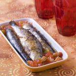 Sardines grillées au chutney de poivrons rouges