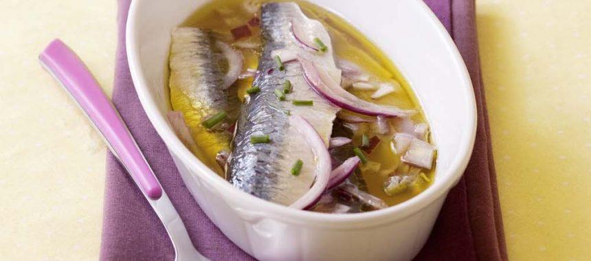 Sardines marinées au citron