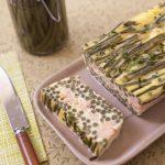 Terrine de haricots verts et saumon
