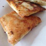 Bricks au fromage et à la ciboulette