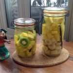 Rhum arrangé – Ananas Kiwi