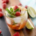 Mocktail framboise passion menthe