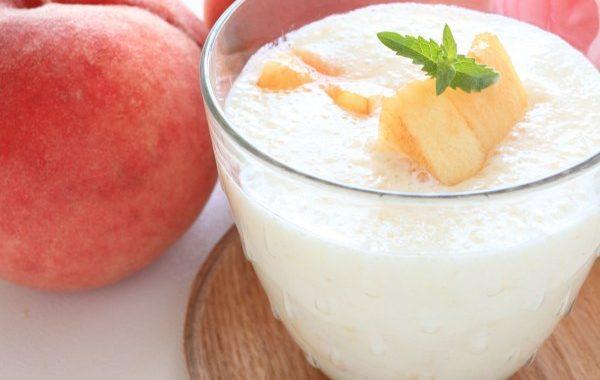 White smoothie rafraîchissant