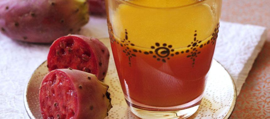 Cocktail orange figue de barbarie