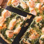 Tarte aux blettes et saumon