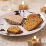 Pain d'épices au potimarron et foie gras