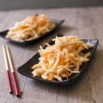 Salade de chou et carotte à la japonaise