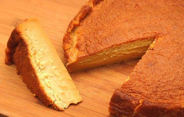Gâteau Magique au caramel au beurre salé