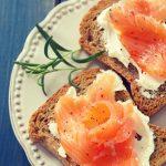 Toasts au saumon fumé