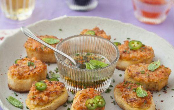 Toasts vietnamiens aux crevettes