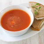 Gaspacho tomates et figues