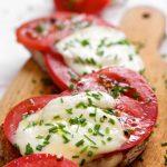 Pain tomate/mozza