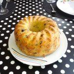 Cake salé aux tomates séchées et parmesan