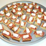 Toast au chorizo et au pain d'épices