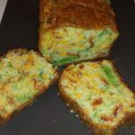 Cake brocoli chorizo