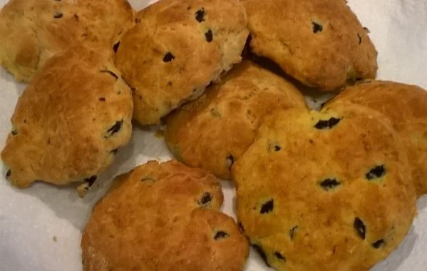 Cookies olives-chèvre