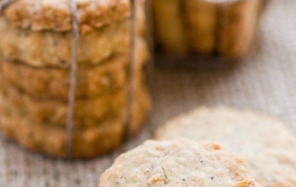 Gâteaux apéritif au Parmesan et Pavot