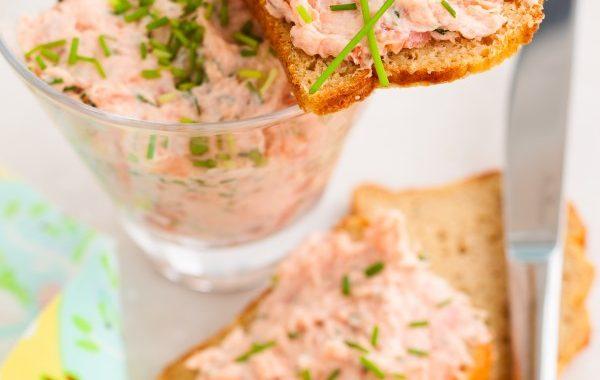 Mousse de saumon à l'échalote