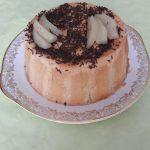 Charlotte aux poires et chocolat