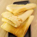 Pâte à crêpes très simple