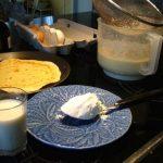Pâte à crêpes sans balance