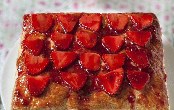 Mille-feuilles aux fraises