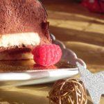 Bûche de Noël à la mousse au chocolat facile