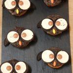 Cupcakes hibou pour Halloween