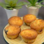 Muffins aux myrtilles anglais