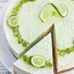 Cheesecake au citron vert (sans cuisson)