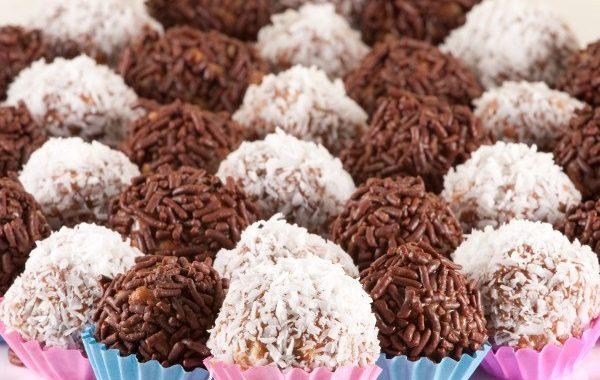 Petites boules de chocolat façon Brésil (Brigadiers)